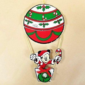1987 MICKEY MOUSE Hot Air Balloon VAIL 3D Ornament